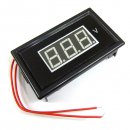 "0.56"" Digital Voltmeter Panel AC 60V to 500V AC 220V 110V Generator Voltage Meter Red/Blue/Green LED"