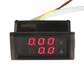Digital Voltmeter Current Meter 100V /100A Voltmeter Gauge DC Current Meter LED Display Auto/Car/Eletronic Voltage Meter with Transformer