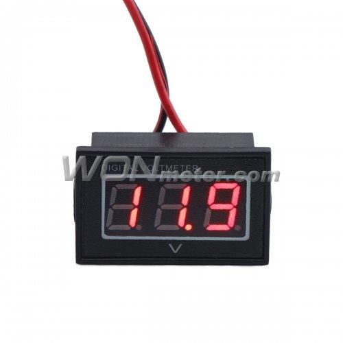 Waterproof Digital Volt Meter Dc 2 5 24v