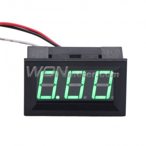 2 Wire Digital LED Red Car Voltmeter Voltage Volt Panel Meter Gauge DC 4.5-30V