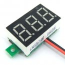 "Ultra-small 0.36"" DC 3.0~30V Red/Blue/Yellow/Green/White LED Voltage Monitor Meter for Car Motorcycle and DIY ect"
