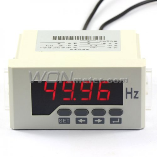 Ac Frequency Meter : Ac v digital frequency counter resistance analog