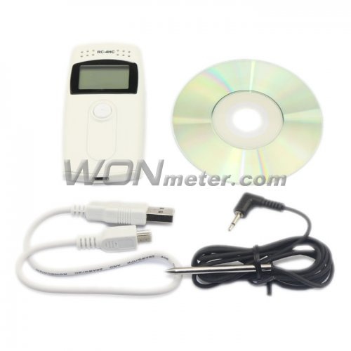 Recording Thermometers Data Logger : Rc h temperature and humidity data logger recording