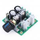 DROK: 13KHZ PWM DC Motor Controller DC 12V-40V 10A Motors Electric Pump Fan Speed Stepless Control Module with Reverse Polarity Protection High-Current Protection