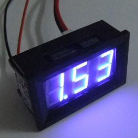 "0.56"" DC 0-10A Red/Blue/Green LED Digital Ammeter Current Ampere Panel Meter"