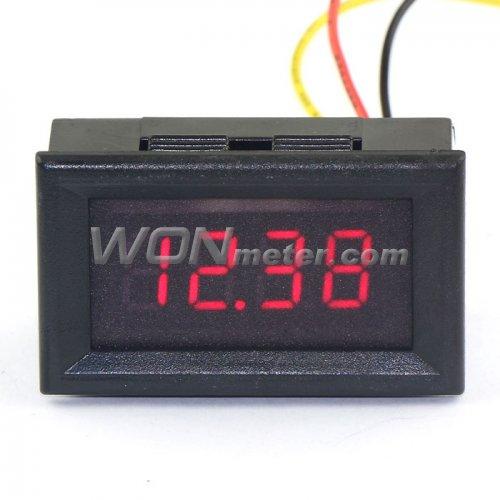 DC 2.5V to 30V Blue voltage Meter Digital Voltmeter Power Monitor Panel Meter