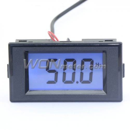Ac Frequency Meter : Ac v digital frequency panel meter hz lcd